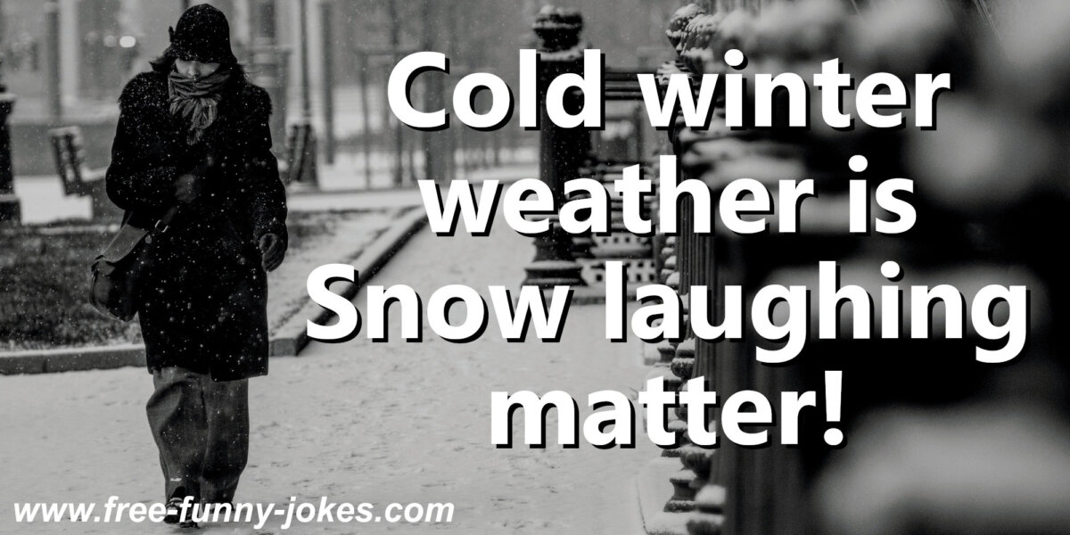 Cold Weather Puns