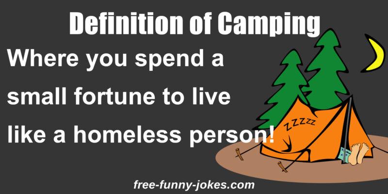 Funny Camping Jokes