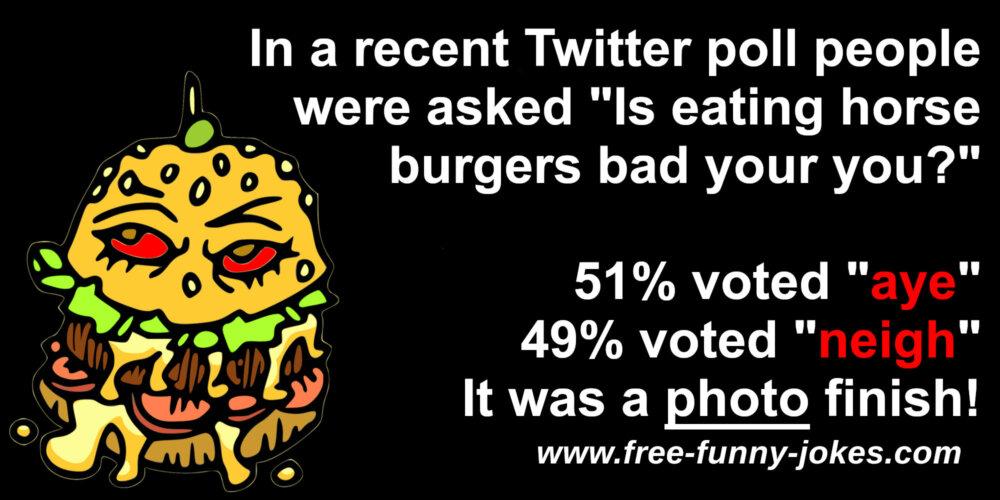 Horse Burger Jokes