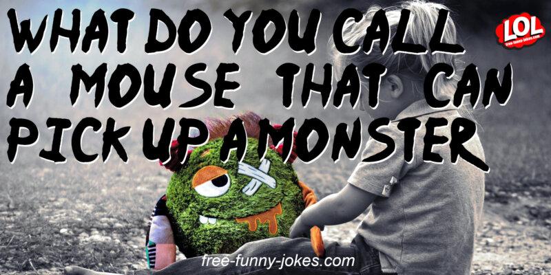 Kids Monster Jokes