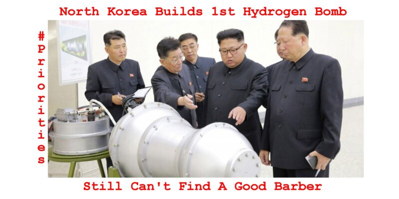 North Korea Builds 1st Hydrogen Bomb Meme