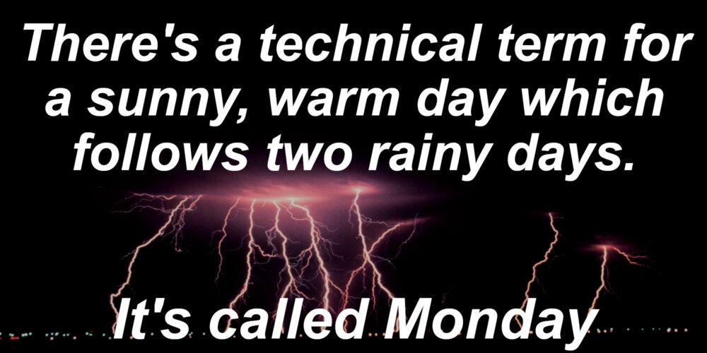 Wet Weather Jokes